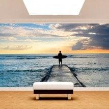 Fotomural Surf Beach