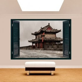 Windows 3D wall of Xian
