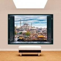 Windows 3D cities Istanbul