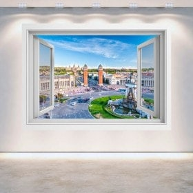 Windows 3D Barcelona