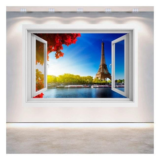 Windows 3D Tower Eiffel Paris