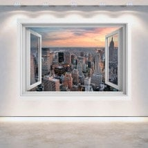 New York City 3D window English 5057