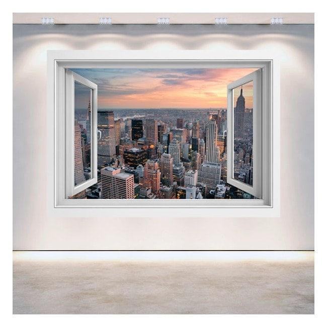 New York City 3D window English 5057