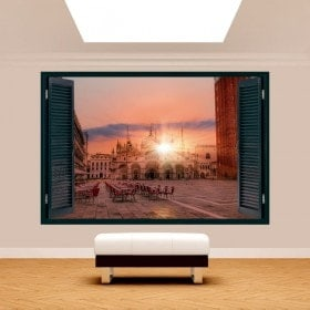 Windows 3D Plaza San Marco sunset
