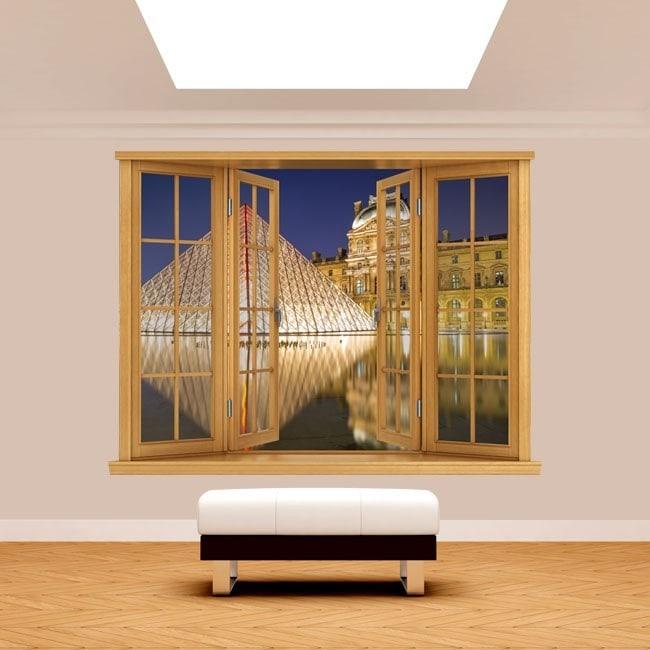 Windows 3D Paris Louvre Museum