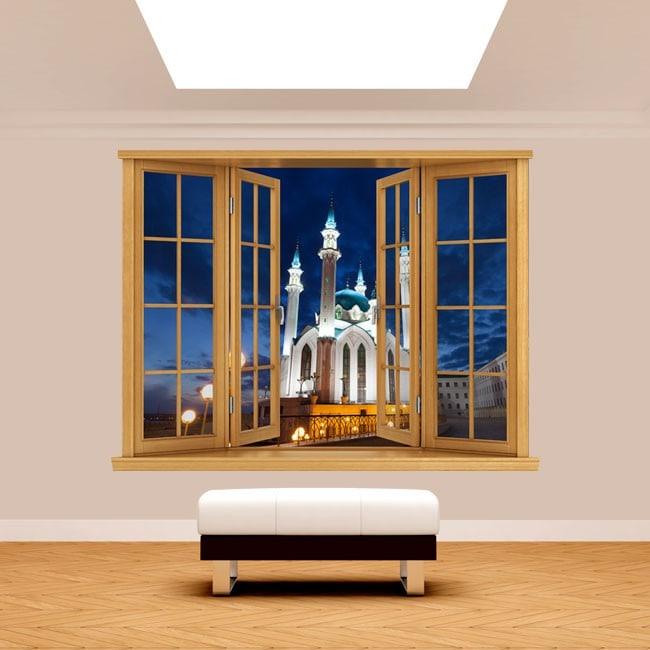 Windows 3D mosque Qol Šari