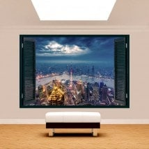 New York 3D window
