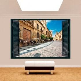 Windows 3D Cordoba city