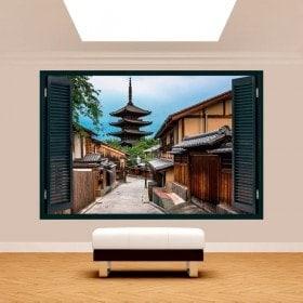 Windows 3D Tokyo streets