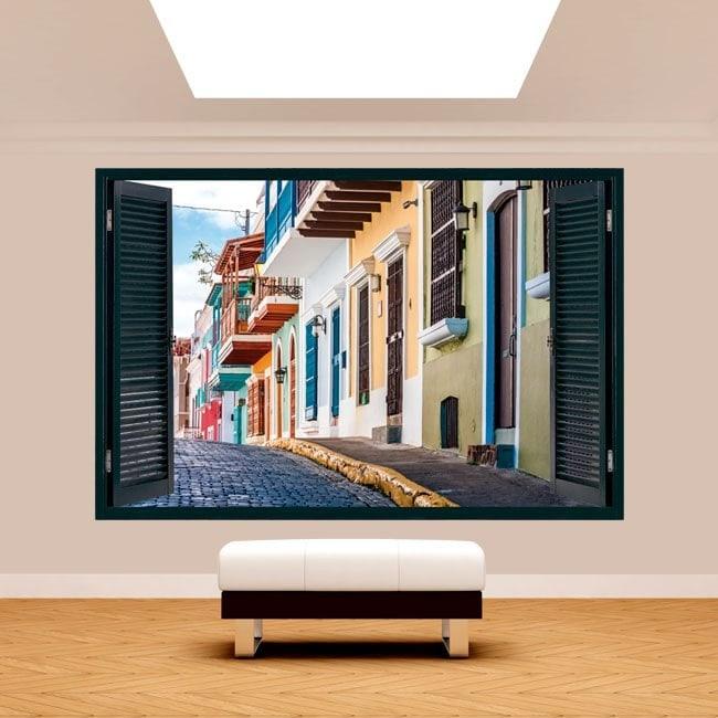 Windows 3D Puerto Rico streets