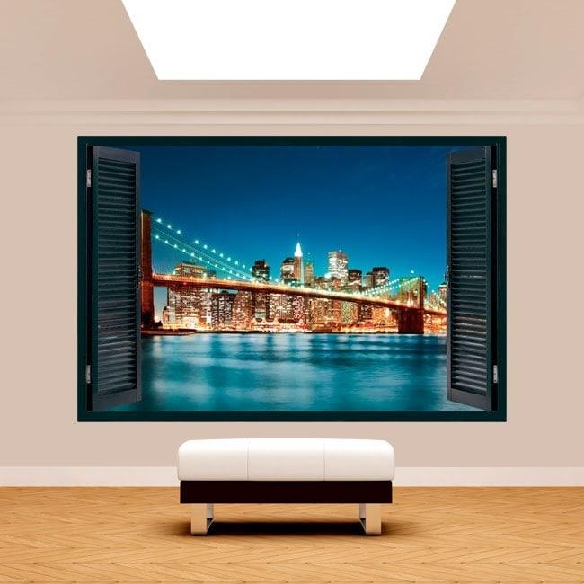 New York City 3D window English 5100