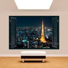 Windows 3D Tokyo Japan