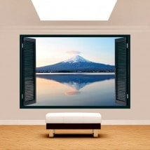 Windows 3D Mount Fuji Lake Kawaguchi
