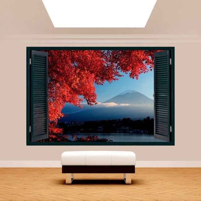 Windows 3D Wall Mount Fuji