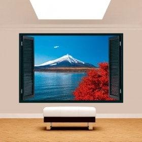 Windows 3D Lake Kawaguchi Mt. Fuji