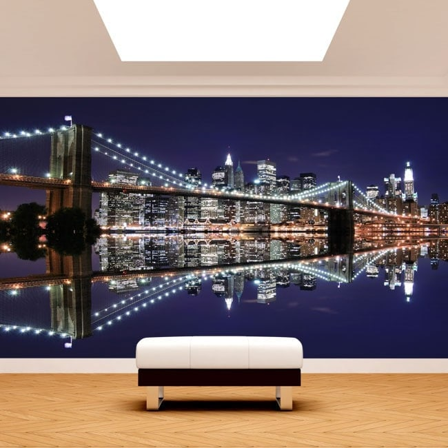 Photo wall murals Manhattan Bridge Brooklyn