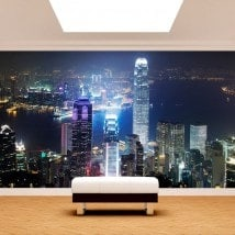 Fotomural Hong Kong City