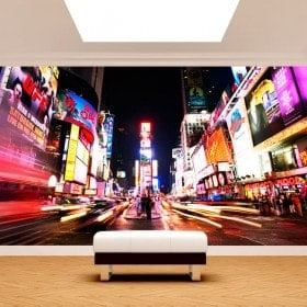 Photo wall murals Times Square New York