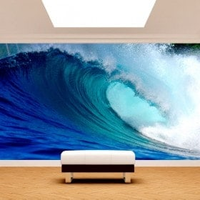 Photo wall murals of the sea waves