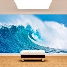 The great wave of the sea photo wall murals