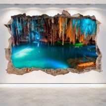 Vinyl caves and grottoes 3D