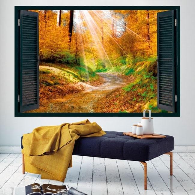 Windows 3D way in nature