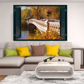 Bridge over Lake 3D windows