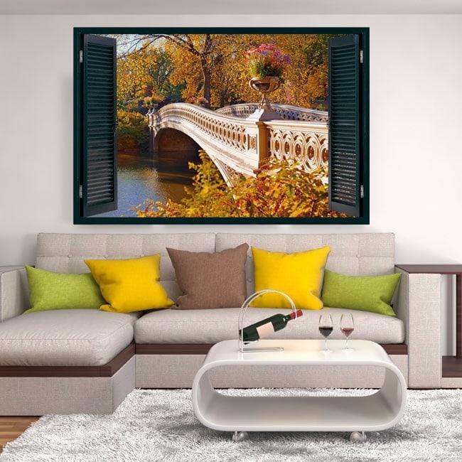 Bridge over Lake 3D windows