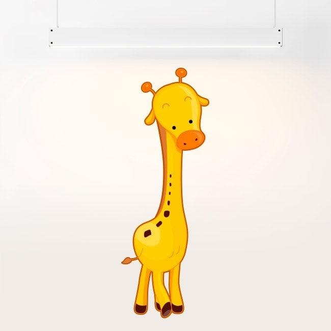 Vinyl child giraffe