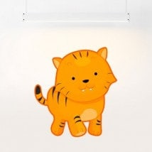 Vinyl child Tiger