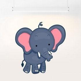 Vinyl child elephant