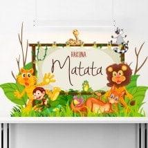 Hakuna Matata children's vinyl