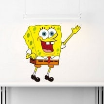 SpongeBob SquarePants children's vinyl stickers