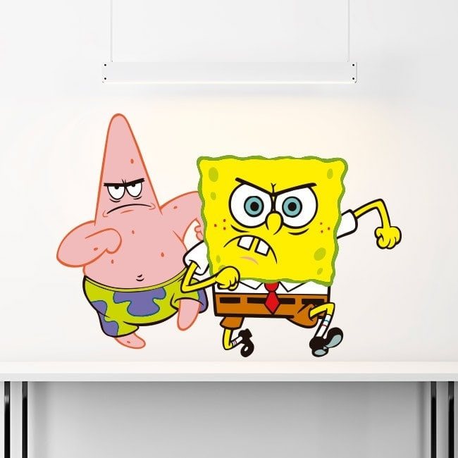 Children's vinyl SpongeBob and Patrick