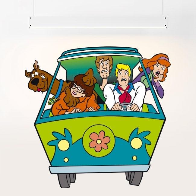 Scooby-Doo children's vinyl