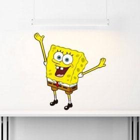 Vinyl stickers Sponge Bob