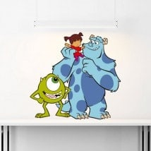Children's vinyl Monsters Inc