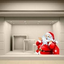 Santa Claus Christmas stickers