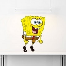 Vinyl stickers Sponge Bob English 5511