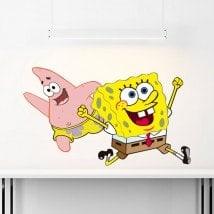 SpongeBob and Patrick stickers