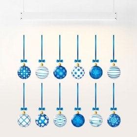 Stickers Christmas balls