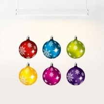 Vinyl Christmas balls English 5561