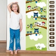 Owls & birds child gauge vinyl