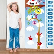 Child gauge vinyl birds nature