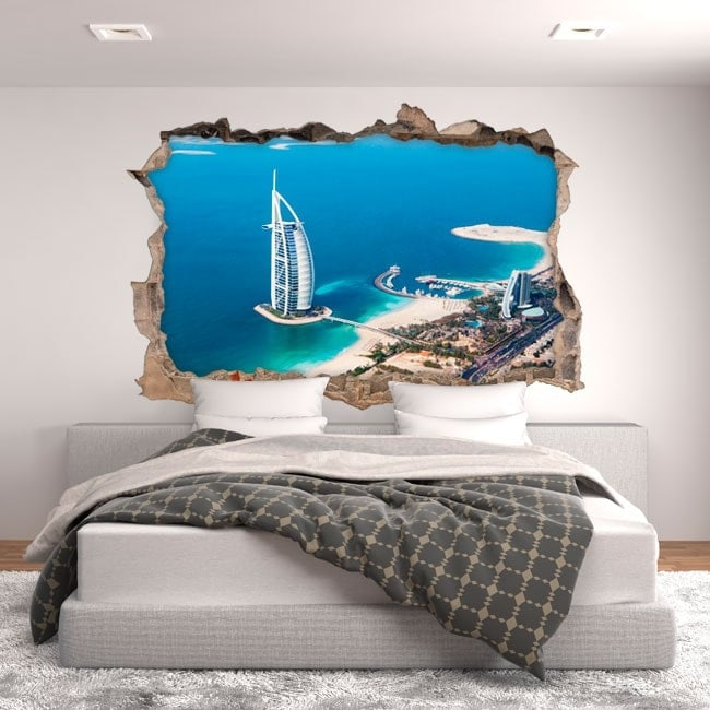 Vinyl 3D Burj al Arab Dubai