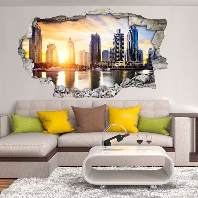 Vinyl 3D Puerto Marino Dubai