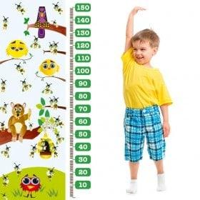 Children's vinyl meter bees and birds