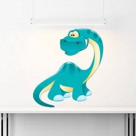 Children's vinyl dinosaur