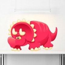 Child dinosaur sticker