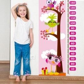 Measuring children's vinyl pink days